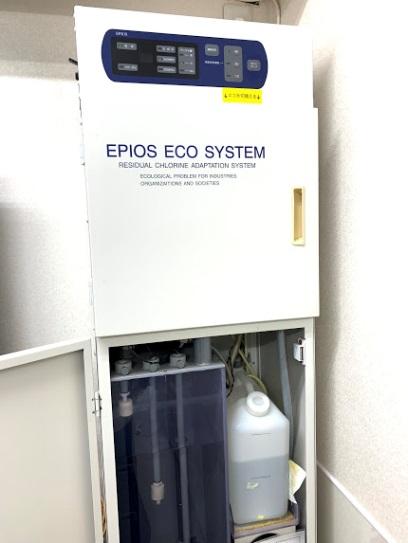 治療水連続除菌システム
